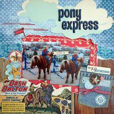 ScrapsationKate's Gallery: Pony Express