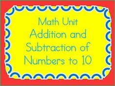 This big bundle of worksheets is a common-core aligned unit for first graders.  It features differentiated worksheets and a unit test.