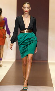Gucci, i love with the skirt part :)