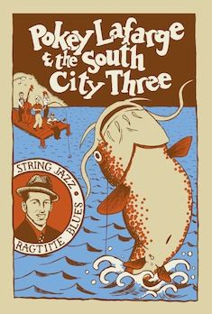I just found this band: Pokey Lafarge and the South City Three. Most excellent & they're playing at the Taft on Friday.