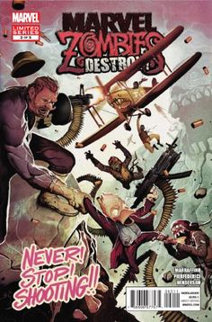 """Marvel Zombies Destroy #2 """"A.r.m.o.r. Is Called Upon to Rescue. A Reality Where the Nazis Won WWII... with Zombies"""""""