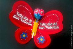 Craft Estudio: Más ideas para regalar paletas el Día de San Valen...