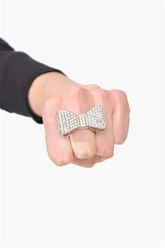 Pave Bow Ring