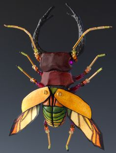 small stag beetle