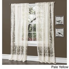 shop for lush decor belle 84inch curtain panel free shipping on orders overu2026 home decor items pinterest lush comforter and bedrooms