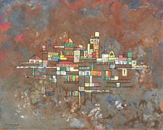 René Portocarrero - floating city 1952
