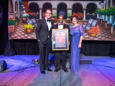 Congratulations to our 2014 Entrepreneur of the Year, Clarence McAllister!  (Left to Right) Gonzalo A. de la Melena Jr., Clarence McAllister and Lisa Urias.