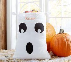 Ghost Pillowcase Treat Bag