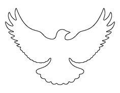 Peace Dove template printable | Quotes | Pinterest | Peace dove ...