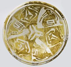 Luster-Painted Bowl  Date:     9th-10th century Geography:     Made in Iraq or Egypt Medium:     Ceramic with monochrome luster decor...