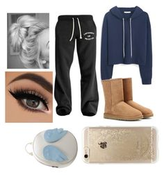 """""""Untitled #90"""" by tumblrsaved2 on Polyvore featuring MANGO, UGG Australia, Rifle Paper Co and Chicnova Fashion"""