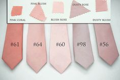 semi shiny mauve dust suede rose blush ties,pink blush,rose coral ties,dusty blush rose,groomsmen,men,dusty blush wedding,blush rose ash