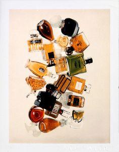 andy warhol still life polaroids paul kasmin gallery perfume bottles