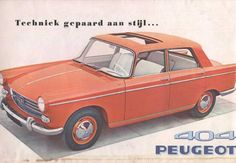 Peugeot 404 brochure