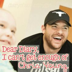 chris young he's so charitable.