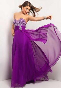 long purple sequins homecoming dresses