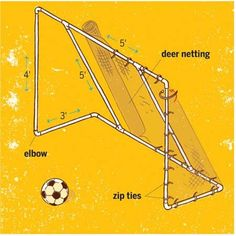 How to make a PVC soccer goal for the backyard!!