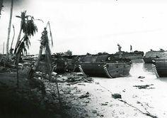 Personal photo off mark Dolan  ACMM  USN  Tarawa  1943