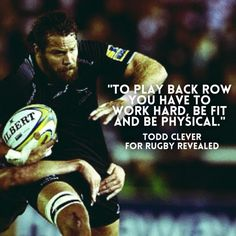 Newcastle Falcon's Todd Clever on some of the requirements to play back row. Read the rest of Todd's insight in Rugby Revealed.