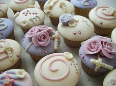Communion Cupcakes Picture 6 – Party Cupcake Ideas