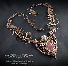 copper wire Necklace