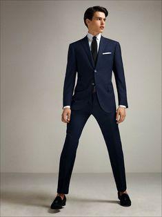 Simon Van Meervenne for Corneliani Spring 2015 Business Casual Men, Business Fashion, Men Casual, Modern Gentleman, Gentleman Style, Mens Fashion Suits, Mens Suits, Men's Fashion, Simon Van Meervenne