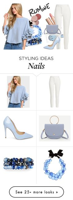 """""""LightBlue"""" by valiyh on Polyvore featuring LunatiCK Cosmetic Labs, Dries Van Noten, Lydell NYC, Joseph and Steve Madden"""