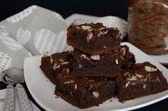 Citromhab: Mogyorókrémes brownie