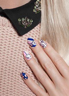 ncLA x Hello Kitty | Nail Wraps | Tweeds