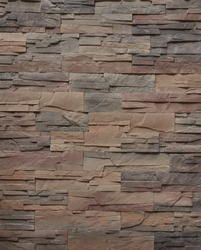 Stone Master Roma Stone Veneer - Use this stone on top half of a wall in the office