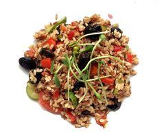 Recette de la salade de riz vegan, facile et rapide à l'Ume-Su | Skate, Brunch & Confettis