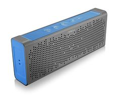iNACU® NFC enabled easy Pairing Wireless Waterproof IPX5 Portable Bluetooth Speaker 5Wx2 18 cores HiFi Aluminum Durable Uni-Body 1800mAh 8-12 Hrs Hands free call with echo cancellation (BLUE)