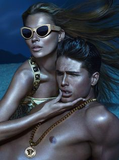 #Sunglasses - #Versace Advertising Campaign Spring Summer 2013