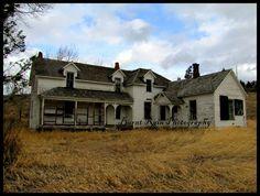 Old abandoned house~ Montana
