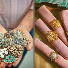 Have a bunch of broken jewelry? Don't know what to do with it ? Here are some inspiring ideas<strong> how to reuse your broken shiny jewelry</s...