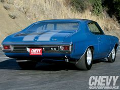 1970 Chevelle.  #ChevyMuscle
