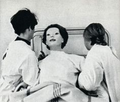 UFO Sightings: The Expressionless (1972 White Gown)