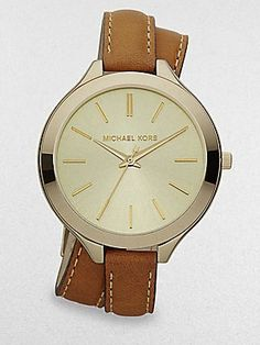 Michael Kors Women's MK2256 Runway Brown Watch:Amazon:Watches