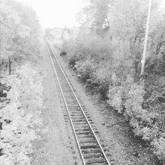 I can't decide which I like better... the black and white... #seacoastnh #Durhamnh #railroad #bw #seacoastpropertygroup
