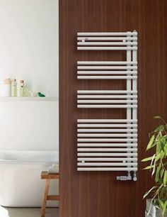 Zehnder Forma Asym Bathroom Spa, Bathroom Storage, Small Bathroom, Master Bathroom, Decorative Radiators, Small Showers, Luxury Shower, Retro Stil, Modern Shower