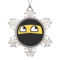 Custom Emoji Christmas Ornaments. Tons of Emojis to choose from! #emoji #christmasornaments