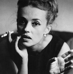@hedviggen ⚓️ found  on pinterest  charisma   character   strong personalities   shakers and movers    Jeanne Moreau  The Mafu Cage (Monochrome Sets)