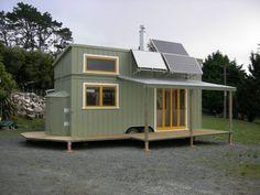 Schöne, Off Grid Und Komplett Benutzerdefinierte 258sf Tiny House In  Neuseeland