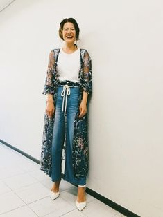 GRACE CONTINENTALのワンピース「フラワーチュール刺繍ガウン」を使ったスザンヌのコーディネートです。WEARはモデル・俳優・ショップスタッフなどの着こなしをチェックできるファッションコーディネートサイトです。