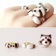 Instead of wearing different rings on different fingers, why not wear one ring on all of your digits? No, I'm not talking about a knuckle duster.
