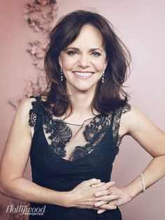 Sally Field looking fabulous at 66 via THR's Actress Roundtable   Tom & Lorenzo (how young she was as Gidget and a Flying Nun)