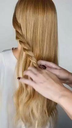 Thin Hair Updo, Long Thin Hair, Bun Hairstyles For Long Hair, Long Hair Easy Updo, Quick Work Hairstyles, Pixie Hairstyles, Bride Hairstyles, Front Hair Styles, Medium Hair Styles