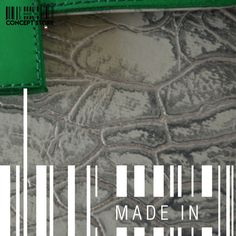 Green & grey texture by MADE IN designers. #Handbag #ConceptStore #Boutique #MexicanDesign