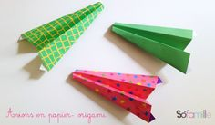 avion-en-papier-origami-avion