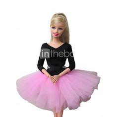 barbie vestido del ballet dulce en rosa 2016 - $165.15